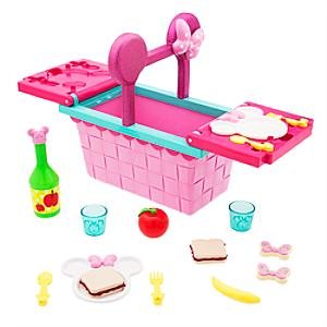 Minnie Mouse Picnic Basket Playset - Picnic Gifts