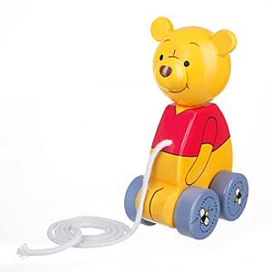 Winnie the Pooh Wooden Pull Along Toy - Winnie The Pooh Gifts