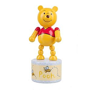 Winnie the Pooh Wooden Push Up Toy - Winnie The Pooh Gifts