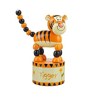 Tigger Wooden Push Up Toy - Tigger Gifts