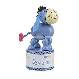 Eeyore Wooden Push Up Toy - Eeyore Gifts