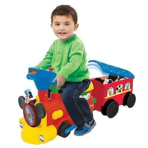 Mickey Mouse Ride-On Train and Track Set - Train Gifts