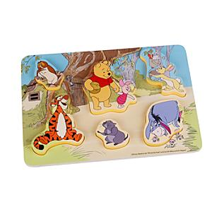 Winnie the Pooh and Friends Baby Wooden Puzzle - Puzzle Gifts