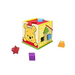 Winnie the Pooh Baby Wooden Shape Sorter - Winnie The Pooh Gifts