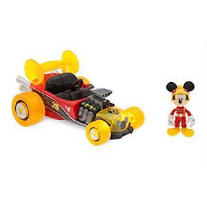 Coche carreras con movimiento por retroceso repleto de elementos Mickey Mouse, Disney Store