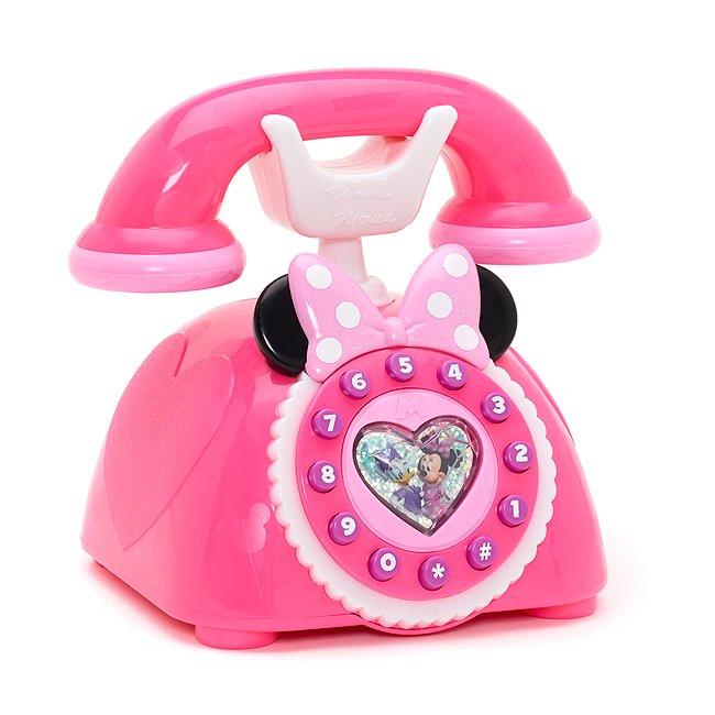 Disney Store coffret téléphone de minnie mouse et les joyeux assistants