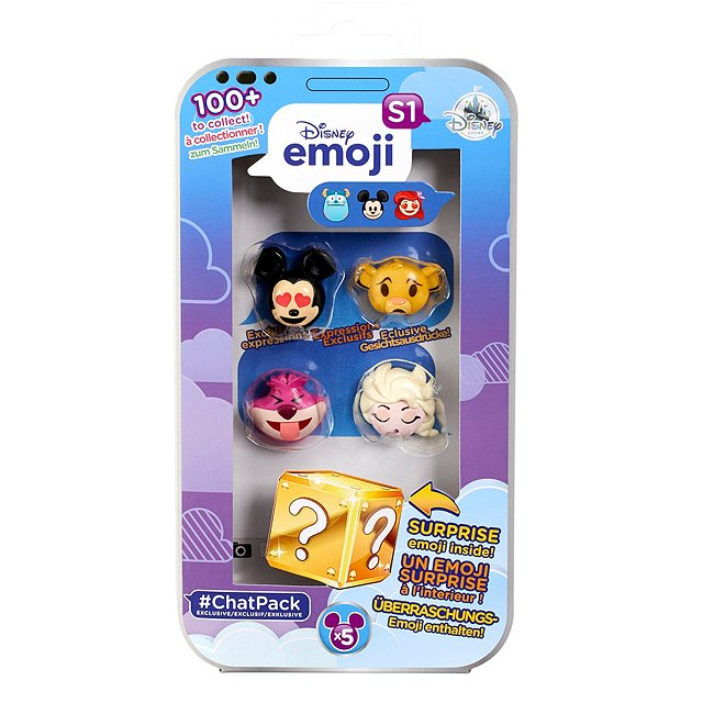#chatpack Disney emoji exclusif avec quatre emojis