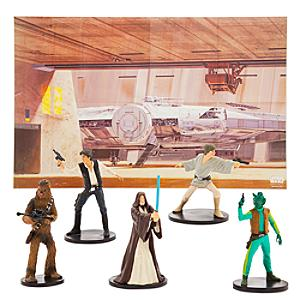 Set de juego de figuritas Star Wars, Disney Store