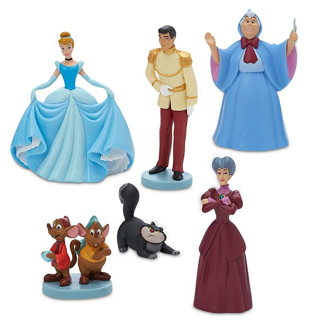 Disney Store coffret mini figurines cendrillon 70e anniversaire