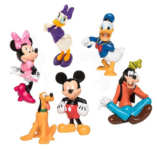 Disney Store coffret de figurines mickey et ses amis