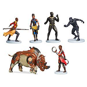Black Panther Figurine Playset - Figurine Gifts