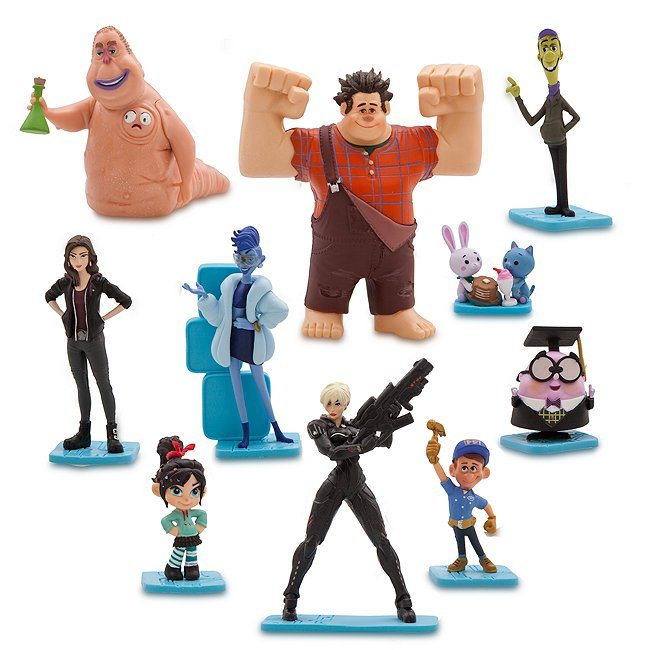 Disney Store coffret de figurines ralph 2.0