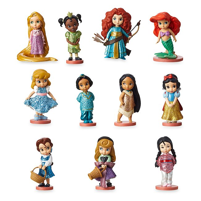 Disney Store coffret deluxe de figurines, collection disney animators