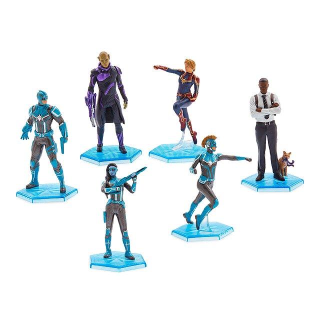 Disney Store coffret de figurines captain marvel