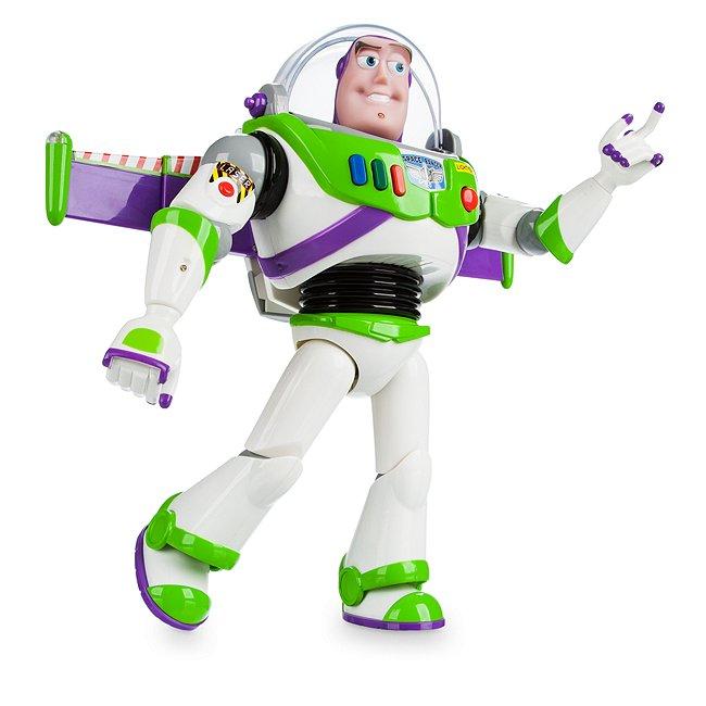 Disney Store figurine buzz l'‰clair articulée parlante
