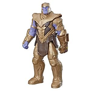 Figura acción Thanos, Vengadores: Endgame, Titan Hero Power FX, Hasbro