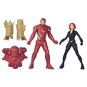 Black Widow and Iron Man Figures, Captain America: Civil War - Iron Man Gifts