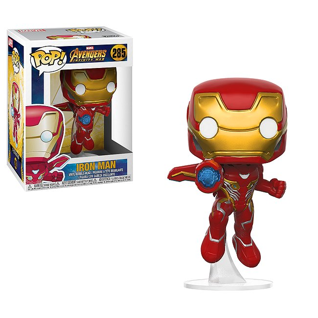 Figurine Iron man funko pop! en vinyle
