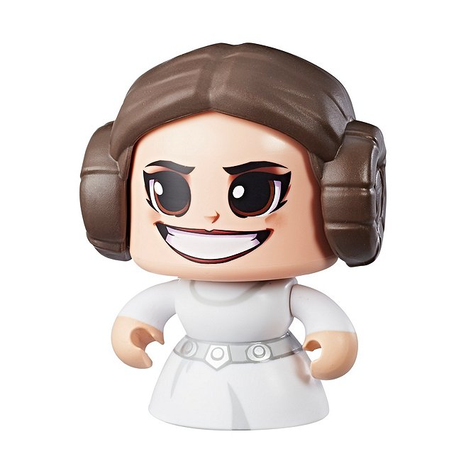 Figurine de la princesse leia organa, star wars mighty muggs