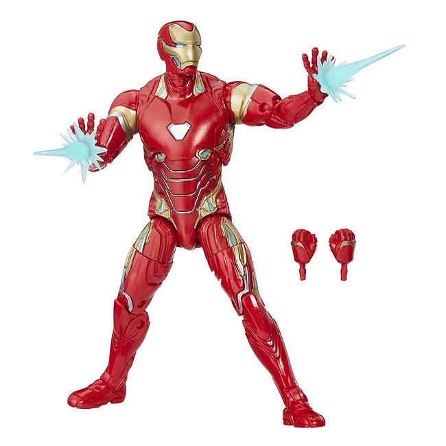 Figurine Iron man articulée, marvel legends, 15 cm