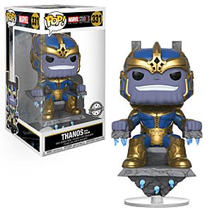 Figura Pop! vinilo exclusiva Thanos con trono, Funko