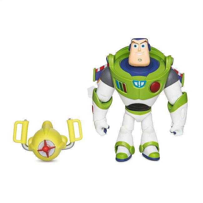 Disney Store figurine buzz l'‰clair articulée, disney pixar toybox