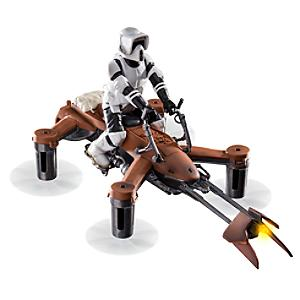 Drone quadricottero Speeder 74-Z per battaglie laser, Star Wars