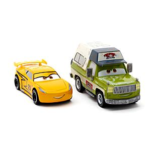 Cruz Ramirez and Roscoe Die-Casts, Disney Pixar Cars 3 - Disney Cars Gifts