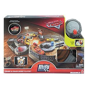 Disney Pixar Cars Crank and Crash Derby Playset - Disney Cars Gifts