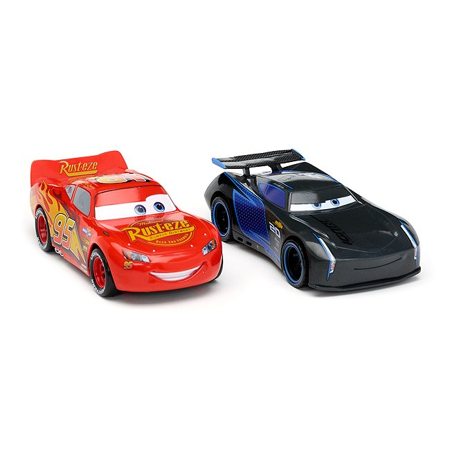 Disney Store lot de 2 voitures de course à friction, disney pixar cars