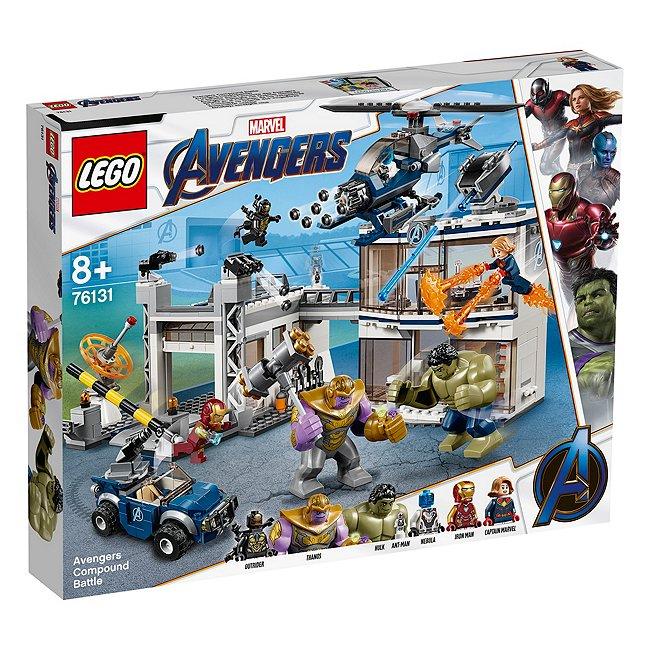 Lego Marvel76131avengers compound battle, avengers: endgame