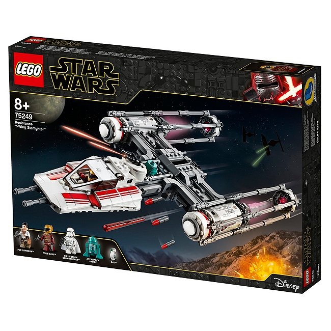 Lego Star wars 75249 chasseur-Bombardier y-wing rebelle