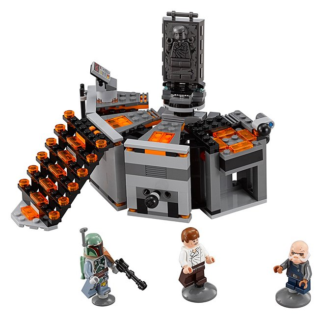 Ensemble Lego star wars 75137 carbon freezing chamber