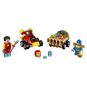 Ensemble LEGO 76072 Mighty Micros : Iron Man contre Thanos