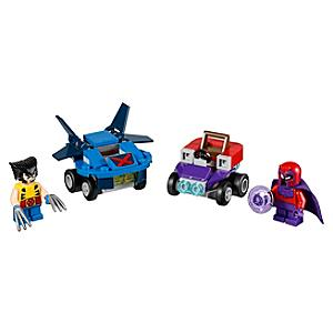 Ensemble LEGO 76073 Mighty Micros: Wolverine contre Magneto