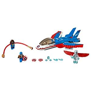 LEGO Captain America Jetjakt set 76076
