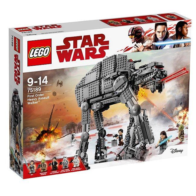 Ensemble Lego 75189 marcheur d'assaut lourd du premier ordre