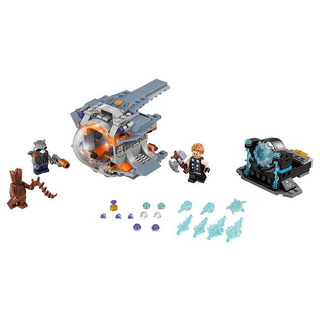 Coffret Lego quête de l'arme de thor 76102