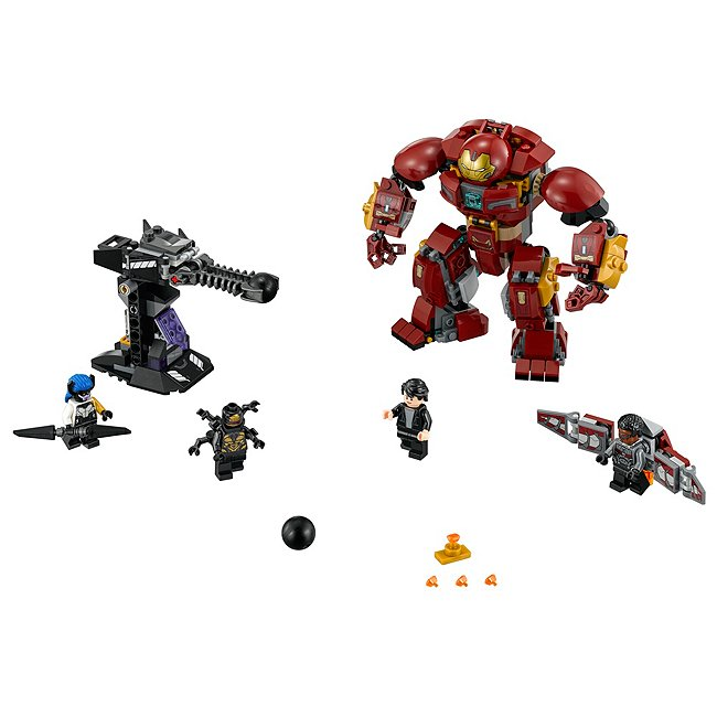 Coffret Lego the hulkbuster smash-Up set 76104