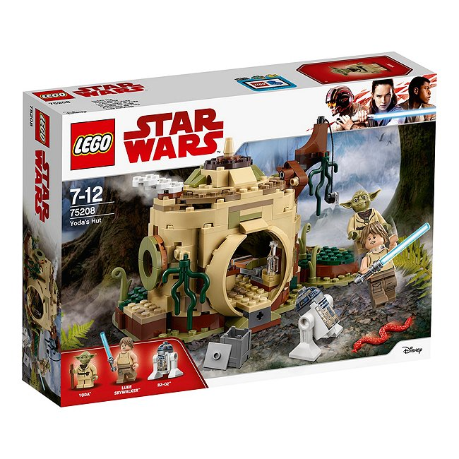 Ensemble Lego star wars75208la hutte de yoda