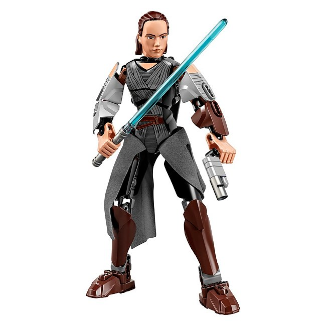 Lego Star wars buildable figures 75528 rey