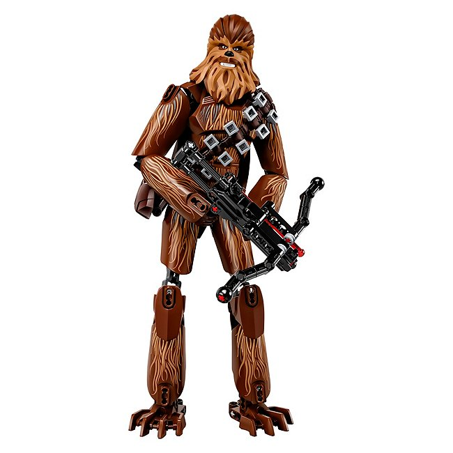 Lego Star wars buildable figures 75530 chewbacca