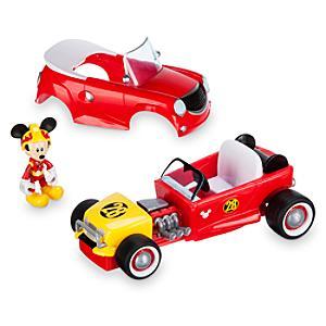 Coche de carreras transformable Mickey Mouse