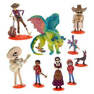 Disney Pixar Coco Deluxe Figurine Set of 9 - Figurine Gifts
