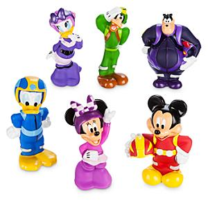 Mickey Mouse Roadster Racers Bath Toy Set - Mickey Mouse Gifts