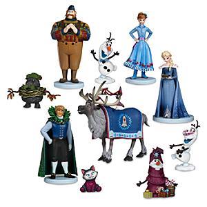 Olaf's Frozen Adventure Deluxe Figurine Play Set - Figurine Gifts