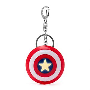 Captain America Shield Light-Up Keyring - Keyring Gifts