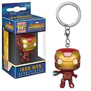 Iron Man Pop! Vinyl Figure Keyring by Funko - Iron Man Gifts