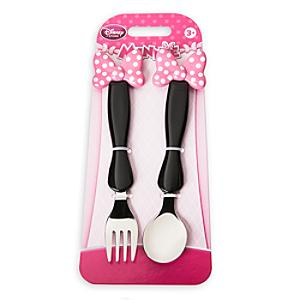 Set tenedor y cuchara Minnie