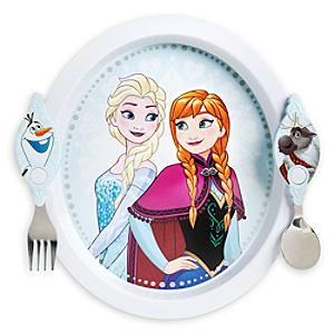 Frozen Plate and Cutlery Set - Cutlery Gifts
